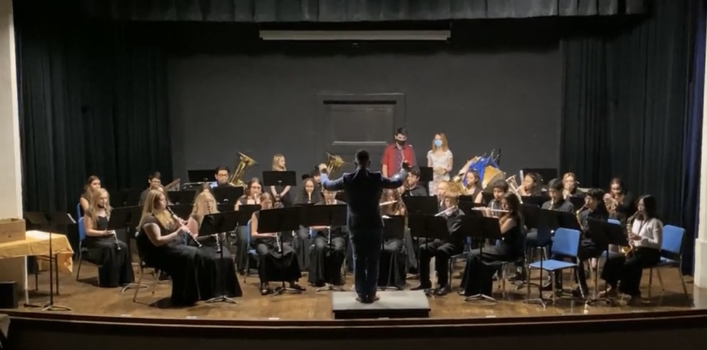 Eden Bulldog Band  Gives a Stellar Performance at their 2021 Spring Concert